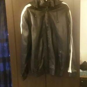 Leather Jogging Suit/Track Suit